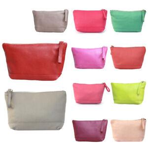 Leather-Makeup-Bag-Ladies-Purse-Clutch-Zip-Up-Make-Up-Pouch-Case