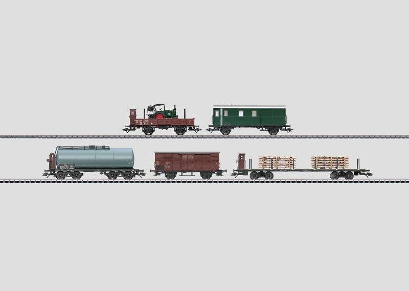 HO 48800 carri merci delle Ferrovie federali austriache-NUOVO + OVP