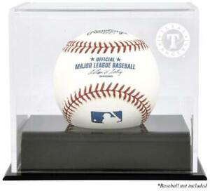 Texas Rangers Baseball Cube Logo Display Case - Fanatics