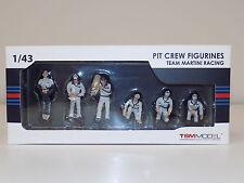 1/43 True Scale Models TSM Pit Crew Figurines Team Martini Racing TSM10AC06