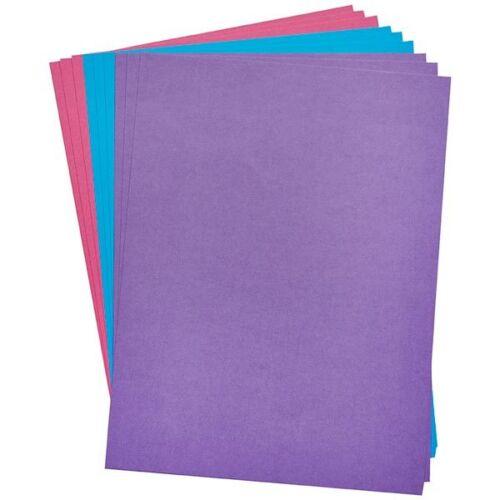 Simplemente hecho Manualidades cartulina de color noches de invierno9 Hojas