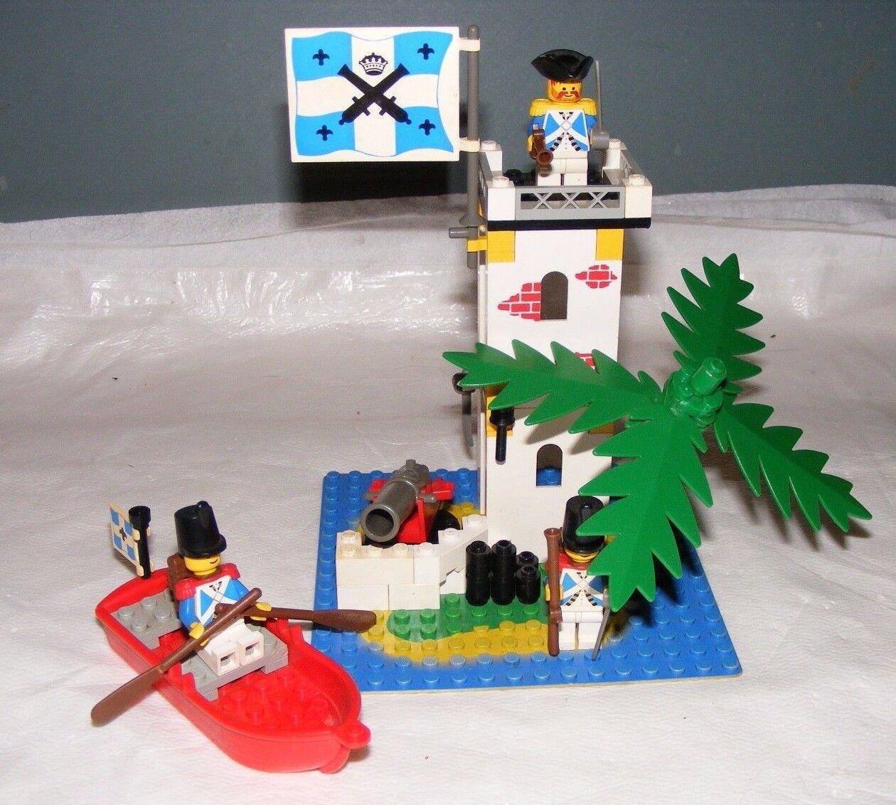 1990 LEGO Sabre Island 6265 COMPLETE  no box