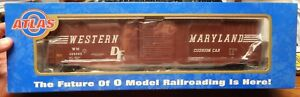 ATLAS-6534-2-60-039-ACF-S-D-WESTERN-MARYLAND-AUTO-PARTS-BOX-CAR-NEW-IN-BOX-O