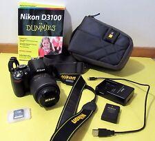 Nikon D D3100 14.2 MP Digital SLR Camera - Black (Kit w/ AF-S DX VR 18-55mm Lens