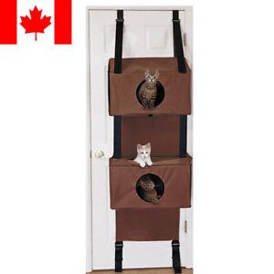 Sortwise® Door Hanging Cat Condo Hammock Kitten Cat Cube Sleeping Play Cat House