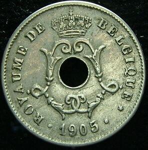 1905 Belgique Belgique Belgie 10 Cents Centimes Netbzlhw-08004743-137729706