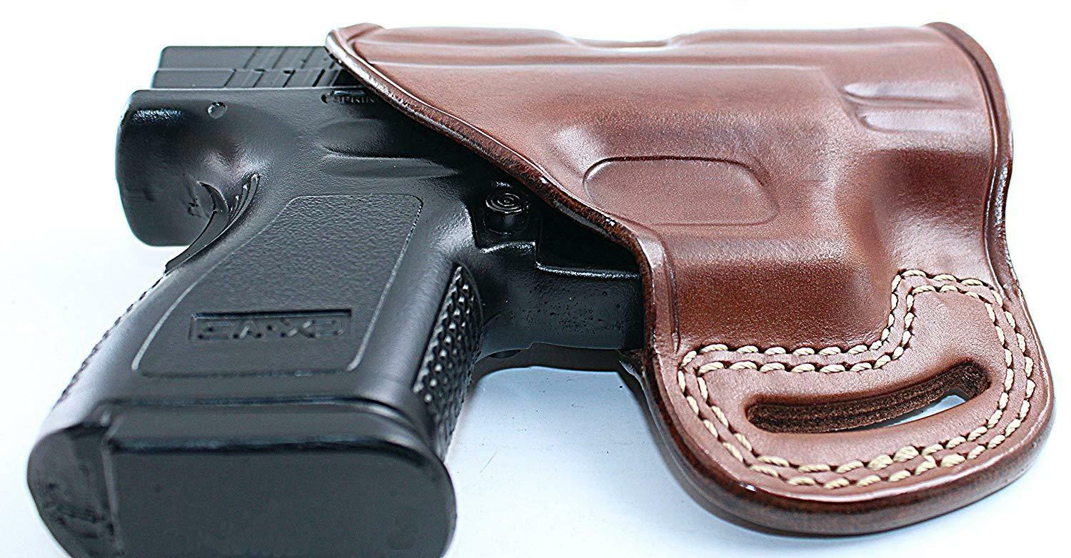 Leder Pancake Holster Fits Springfield XDS 3.3