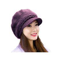 Women Fashion Winter Hats Hindawi Crochet Knit Warm Snow Cap Wi... Free Shipping