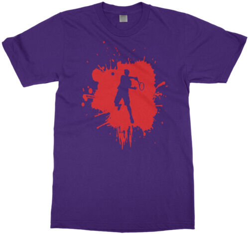 Tennis Splatter Boy Youth T-Shirt Player Birthday Party Gift Idea
