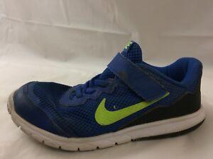 b2f73b1e48231 Nike Flex Experience 4 Boys 1 Youth Sneakers Running Shoes Blue ...