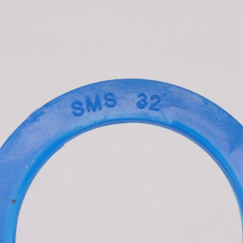 LOT 5 Multiple Blue Silicone Flat Gasket Ring for Sanitary SMS Socket Union