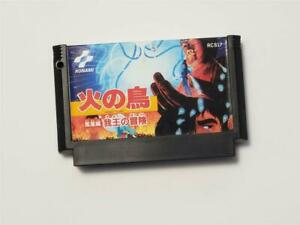 Famicom Hino Tori Houou-hen Gaou no Bouken Japan FC game US Seller