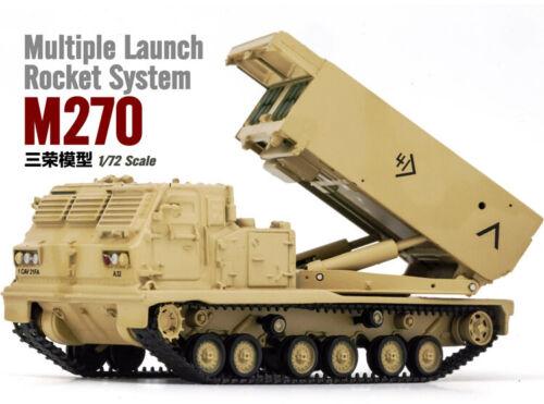 1//72 Tank 1:72 US Army M270 MLRS più sistema di lancio Rocket