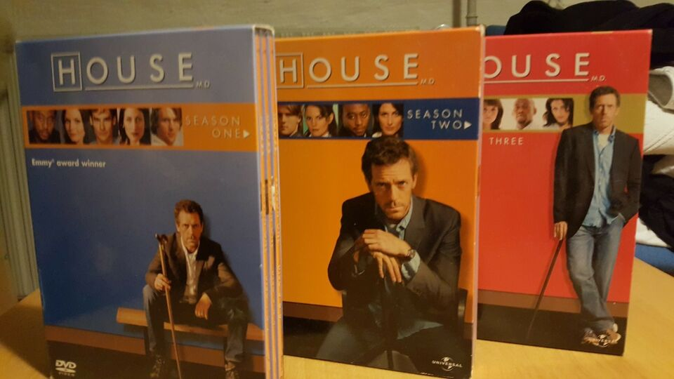 House MD, DVD, drama