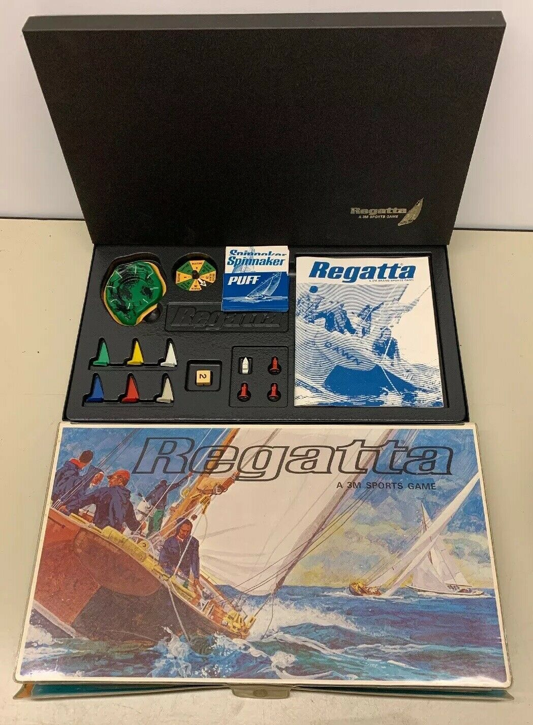 Regatta 3M Yacht Racing Game Complete All Pieces Accounted For No Damage Vintage