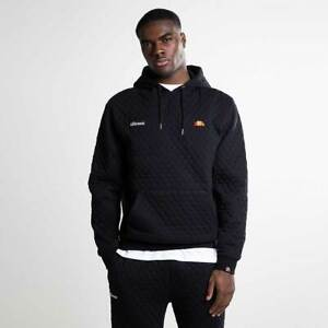 Ellesse-Donnino-Oh-Hoody-Mens-Anthracite-Geometric-Active-Wear-SHZ05903-ATH