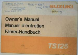 Suzuki-TS125-Dec-1977-99011-48661-Motorcycle-Owners-Handbook