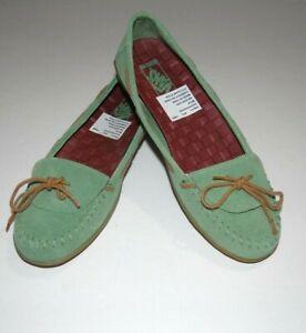f0c0affa41 New Vans Womens Alpaca Slip On Loafer Suede Shoes US 7 EU 38