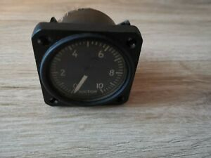 Collens Suction Gauge F-4 P/N: 200, AN5774-5 (21698) from Certified Aircraft