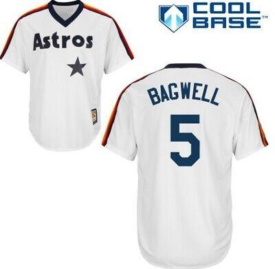 Jeff Bagwell Houston Astros Retro Spieler Baseball Jersey Mlb Trikot Feine Verarbeitung