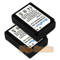 Battery X 2 For Samsung Bp-1030 Nx200 Nx210 Nx1000 Nx300 Camera Two Batteries