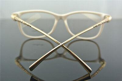 Women Eyeglass Frames Metal Leopard Design Glasses Eyewear Spectacles Optical