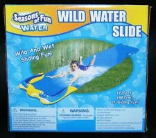Wild Water Slide Seasons of Fun Wet Pool Swim Summer Toy Staycation 16 Ft Splash