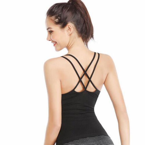 Women/'s Body Shaper Slim Tank Top Tummy Control Camisole Shapewear Deep-V Vest