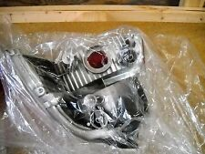 NOS Show Chrome Clear Lens Saddlebag Lights 2001-05 Honda GL1800 Goldwing 52-735