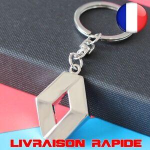 Porte-cles-Renault-Mode-Automobiles-3D-Voiture-Metal-Embleme-Accessoires-Chaine
