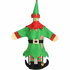 Christmas Elf Wine Bottle Cover Table Party Decor Entertaining Hostess Gift