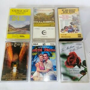 Bundle-Lot-Of-Vintage-Audio-Cassette-Tapes