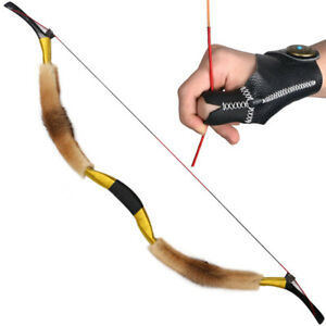 "50lbs 52/"" Traditional Handmade Recurvebow Archery Hunting Horse Mongolia Longbow"