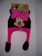 Disney Minnie Mouse Flipeez Kid s Fun Knit Laplander Winter Hat ... 2444cc7babd