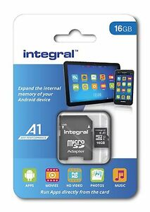 16GB A1 APP PERFORMANCE ANDROID SMARTPHONE AND TABLET MICRO-SDHC [UHS-I U1 C10]