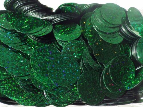 aprox. 110 PC por 25g Pack Holograma Plana 25g X 30mm Disco Lentejuelas 9 Colores