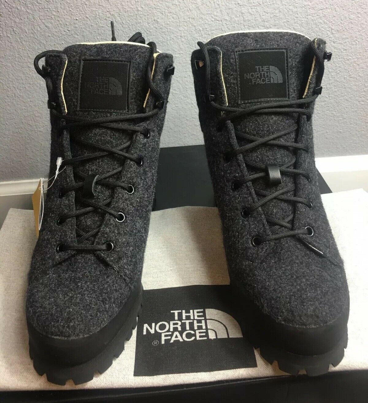 The North Face Women Cryos Cryos Cryos Hiker Wool Boots W Vibrant Rubber Sole Size 9  450 babd6e