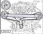 thumbnail 6 - 2 Pcs Engine Camshaft Locking Alignment Timing Belt Tools For VW AUDI V8 4.2L
