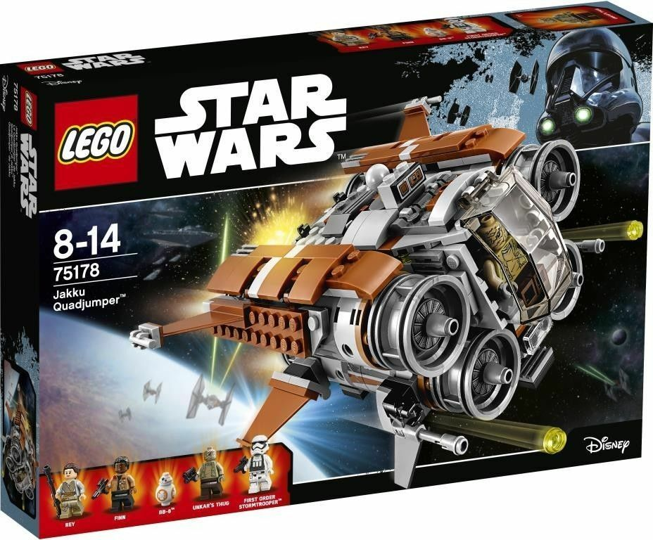 LEGO 75178 estrella guerras Jakku Quadjumper   comodamente
