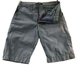 Bermuda-Fred-Perry-Uomo-Pantaloncini-Grigio-Men-Bermuda-Shorts-Stretch-Grey-31