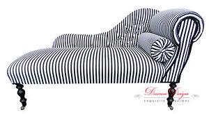 Gorgeous-Black-amp-White-Striped-Button-Back-Chaise-Longue