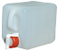 1 x 10 L Canister Water Canister 1 DRAIN COCK Food-Safe