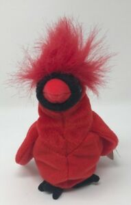 RARE! MAC Beanie Baby ERROR Cardinal BIRD With Wrong Tag ...