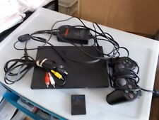 Sony PlayStation 2 Slim Launch Edition Charcoal Black Console (SCPH-77001CB)