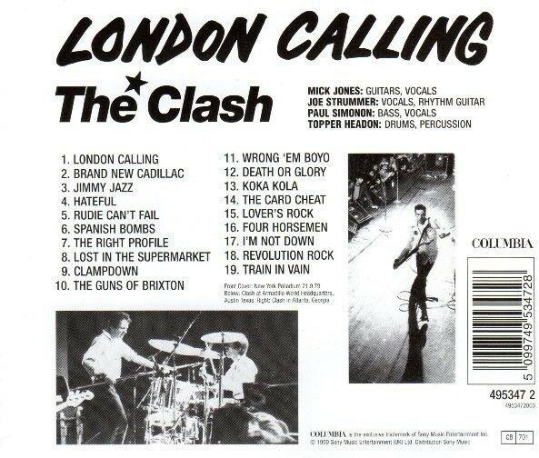 The Clash: London Calling, rock