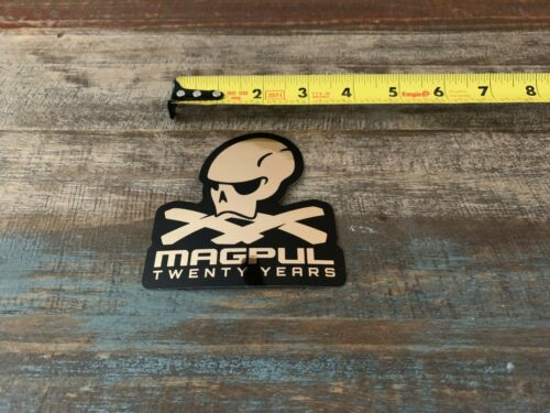 """Magpul Twenty Years Black PMAG Sticker//Decal Tactical AR AK Hunting Approx 3.5/"""""""