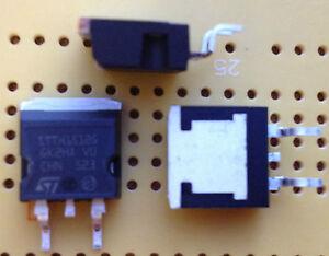 15A-1200V-diodo-di-recupero-rapido-STTH-1512G-TR-D2PAK-Qta-RADDRIZZATORE-53nS-Multi