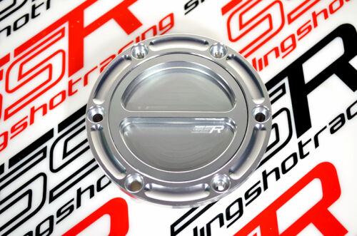 97-99 91-03 Trophy Triumph Silver Keyless Billet Gas Fuel Cap Daytona 595//955