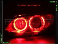 PMLIT 06-08 BMW 3 Series 4DR Red G2.0 Angel-Eyes 6W LED Headlights Halo Bulbs