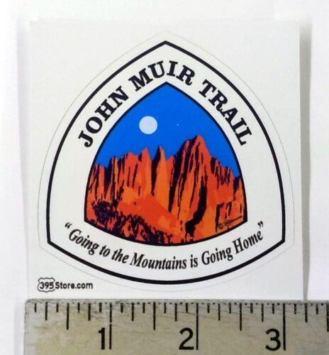 """John Muir Trail JMT sticker decal 3/""""x2.8/"""""""